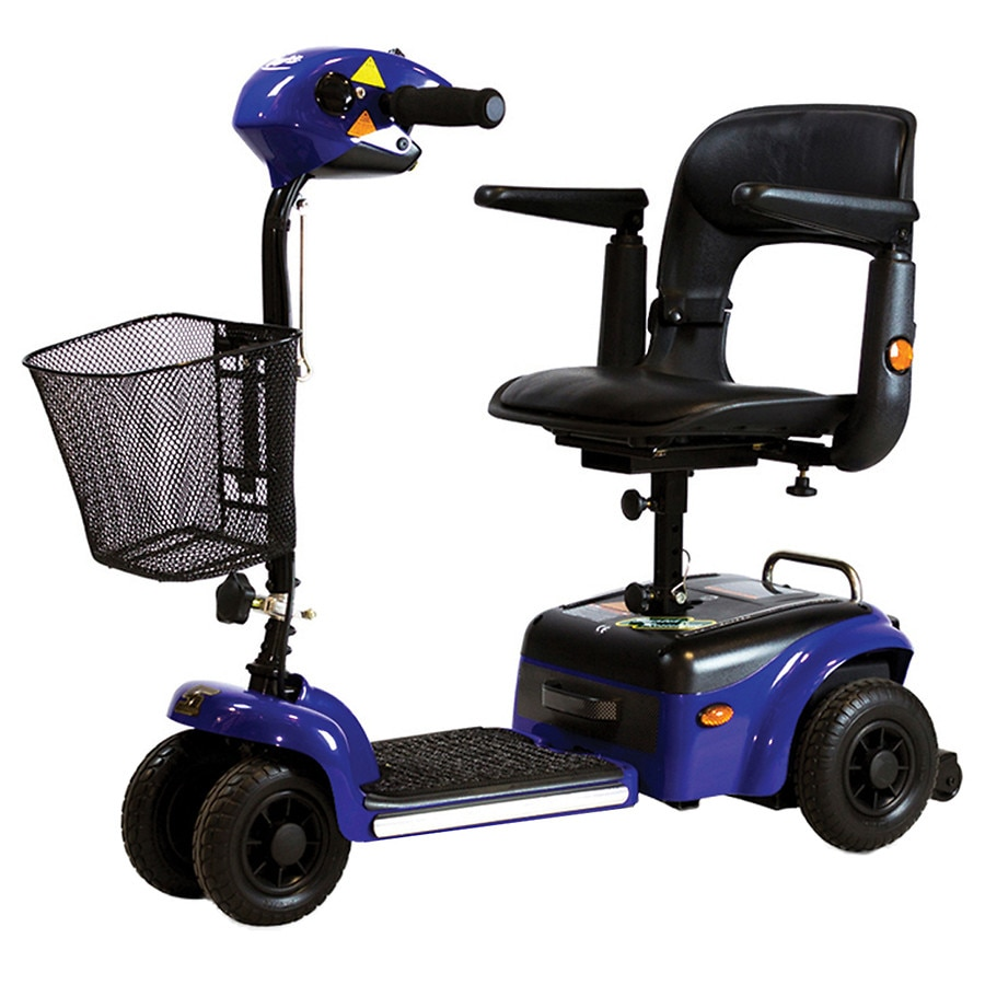 Rider Scootie 4 Wheel Mobility Scooter Blue1 0 Ea