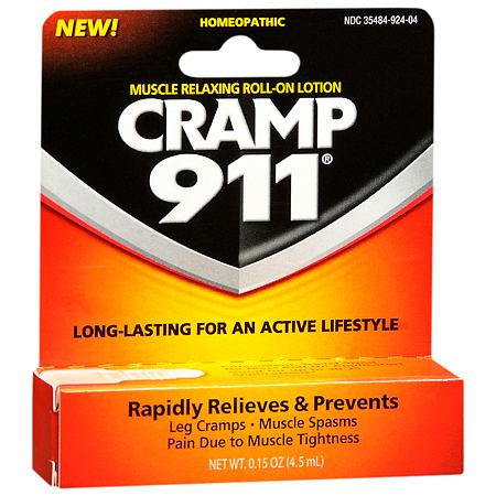 Cramp 911 Muscle Relaxing Roll-on Lotion - 0.15 oz.