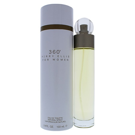 Perry Ellis 360 Eau de Toilette Spray for Women - 3.4 fl oz