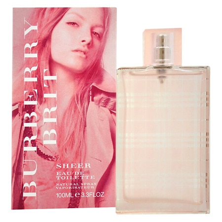 Burberry Brit Sheer Eau de Toilette Spray for Women