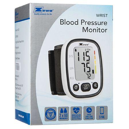 Zewa WS-380 Deluxe Automatic Wrist Blood Pressure Monitor - 1 ea.