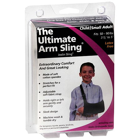 Joslin Orthopedic Gear The Ultimate Arm Sling Child/Small Adult Black