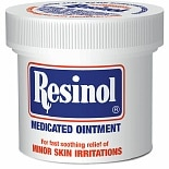 Resinol Topical Analgesic/ Skin Protectant Medicated Ointment