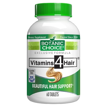 Botanic Choice Vitamins for Hair Formula Dietary Supplement Tablets