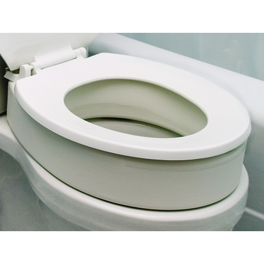 Essential Medical Elongated Toilet Seat Riser Walgreens