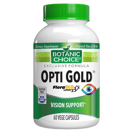 Image of Botanic Choice Opti Gold Dietary Supplement Capsules - 60 ea.