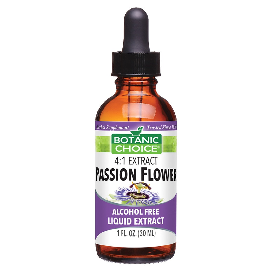 Botanic Choice Passion Flower Herbal Supplement Liquid Walgreens