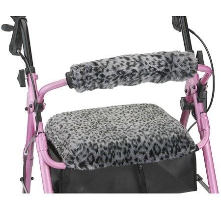 nova getgo classic rolling walker w leopard seat u0026 back - Nova Walkers