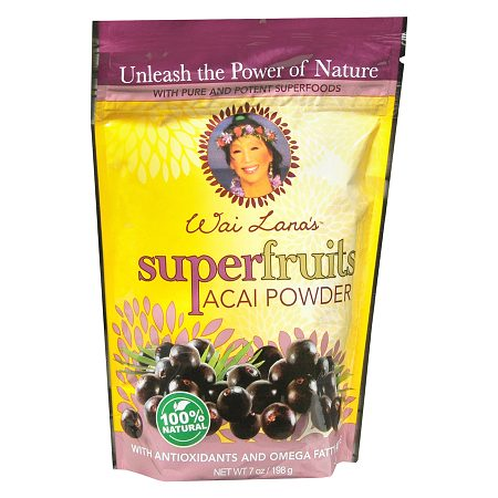 Wai Lana Super Fruits Powder Dietary Supplement Acai