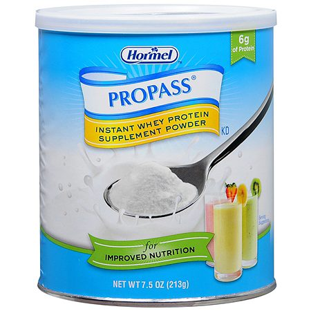 Hormel Propass Instant Whey Protein Supplement Powder 7.5 oz Containers