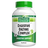 Botanic Choice Digestive Enzyme Complex Dietary Supplement Capsules