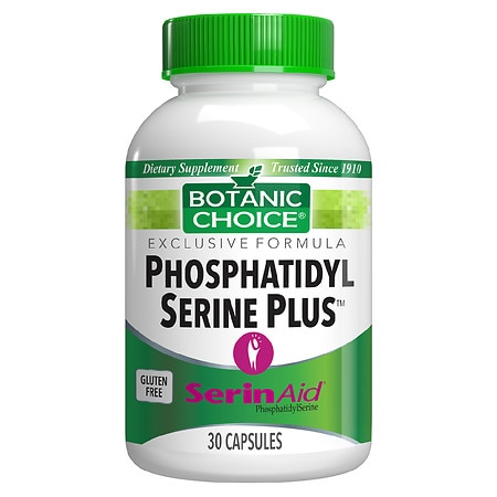 Botanic Choice Phosphatidyl Serine Plus 100 mg Dietary Supplement Capsules