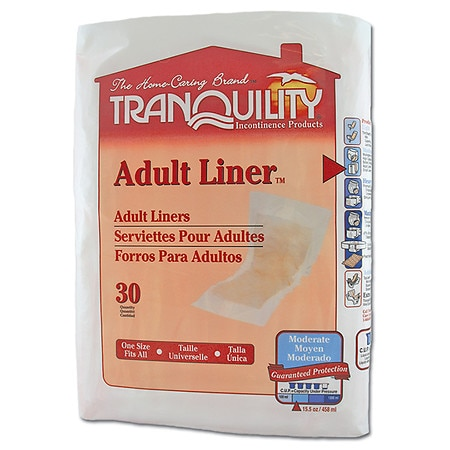 Tranquility Adult Liners - 120 ea.