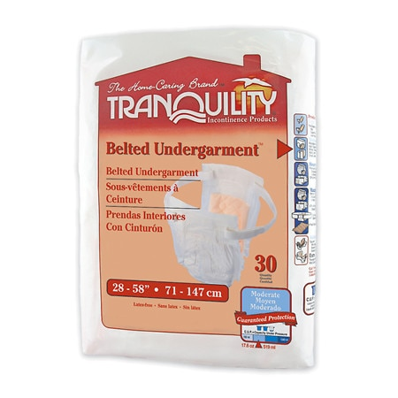 Tranquility Adjustable Belted Undergarments - 120 ea.