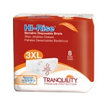 Tranquility Hi-Rise Disposable Bariatric Briefs