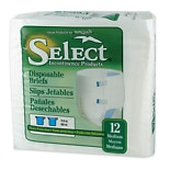Tranquility Select Disposable Briefs