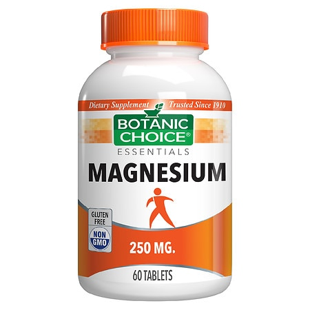 Botanic Choice Magnesium Oxide 250 mg Dietary Supplement Tablets