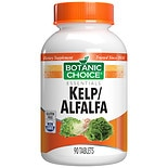 Botanic Choice Kelp/ Alfalfa Herbal Supplement Tablets