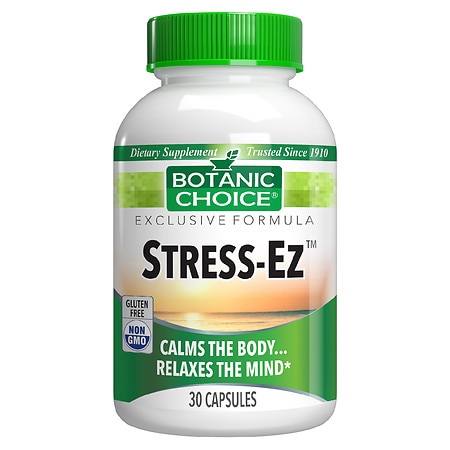 Botanic Choice Stress-Ez Herbal Supplement Capsules - 30 ea.