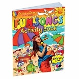 Wai Lana Little Yogis Fun Songs Activity Book