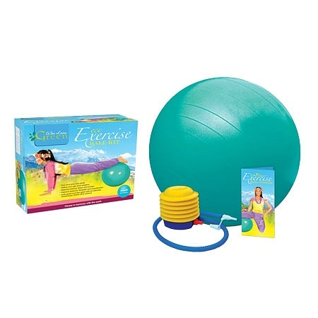 Wai Lana Eco Exercise Ball Kit with Poster - 1 ea.