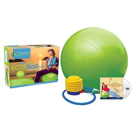 Wai Lana Pilates Yoga Eco Ball Kit with DVD - 1 ea.