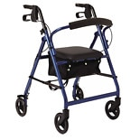 Medline Basic Rollator Blue