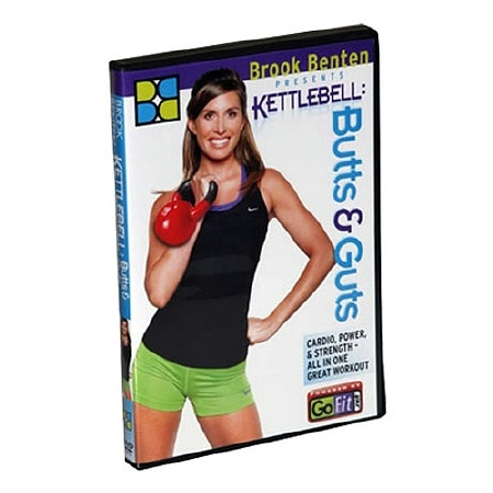 GoFit Kettlebell Butts and Guts DVD - 1 ea.