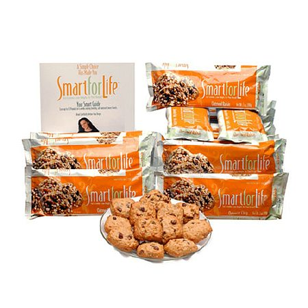 Smart for Life Cookie Diet 14 Day Meal Plan Replacements, Oatmeal Raisin Oatmeal Raisin