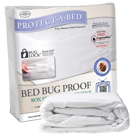 Protect-A-Bed Bed Bug Proof Full XL Box Spring Encasement