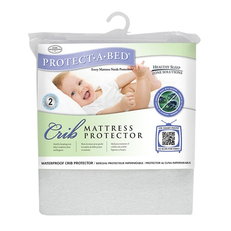 Protect-A-Bed Premium Crib Mattress Protector