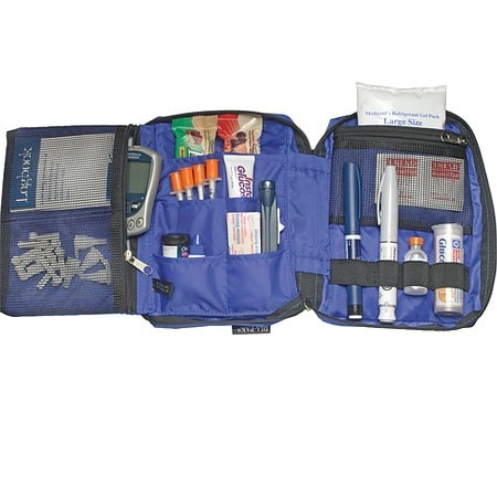 Insulated insulin travel kits