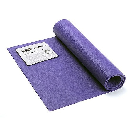 GoFit Yoga Mat with Yoga Posture Poster - 1 ea.