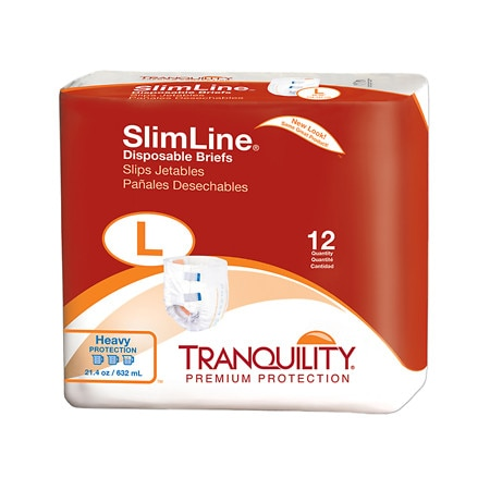 Tranquility SlimLine Disposable Brief Heavy Protection - 96 ea.