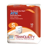 Tranquility ATN All- Through the Night Disposable Brief SMALL