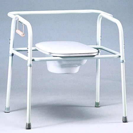 TFI Medical Bariatric Heavy Duty Commode with Elongated Seat - 1 ea.