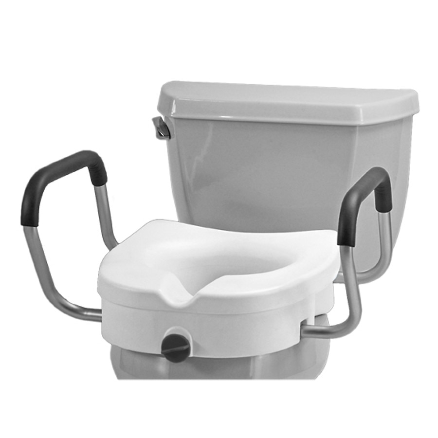 Nova Raised Toilet Seat With Arms Walgreens