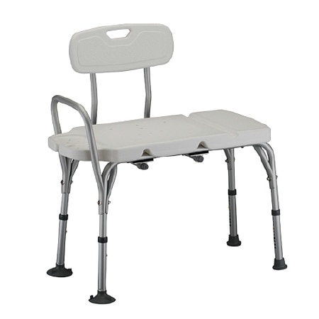 Nova Deluxe Transfer Bench with Back - 1 ea.