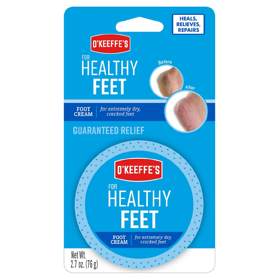 O Keeffe S For Healthy Feet Daily Foot Cream Walgreens