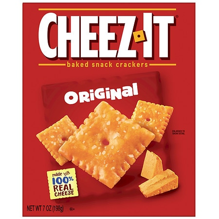 Image of Cheez-It Baked Snack Crackers - 7 oz.