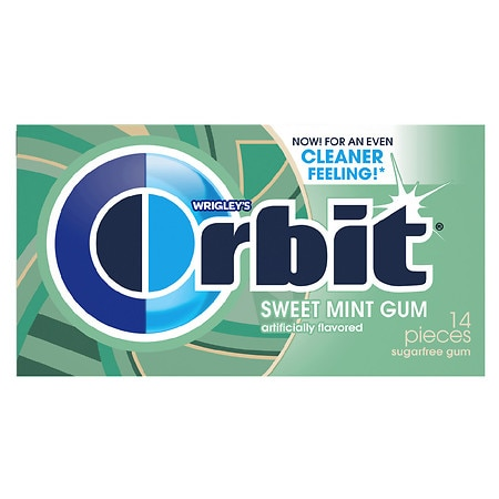 Wrigley's Orbit Sugarfree Gum Sweetmint