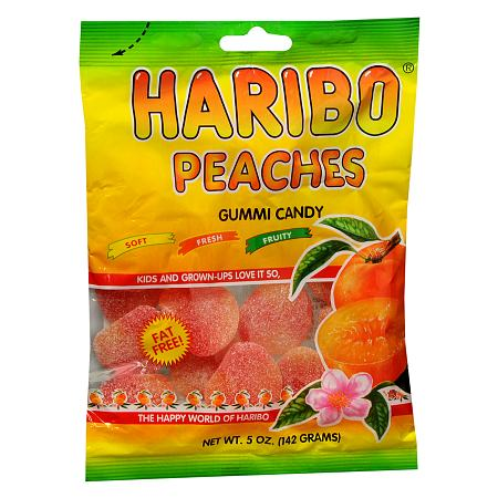 Haribo Peaches Gummy Candy