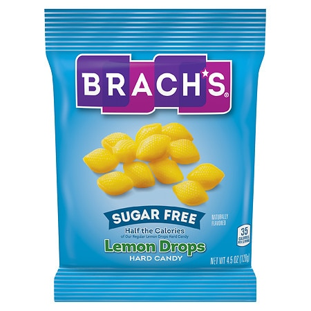 Brach's Lemon Drops Hard Candy Sugar Free
