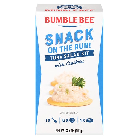 Bumble Bee Tuna Salad with Crackers Snack Kit - 3.5 oz.