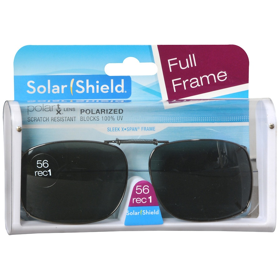 fc75ce2d54 Solar Shield PolarTX Metal ClipOns Lens Full Frame 56 Rec 1