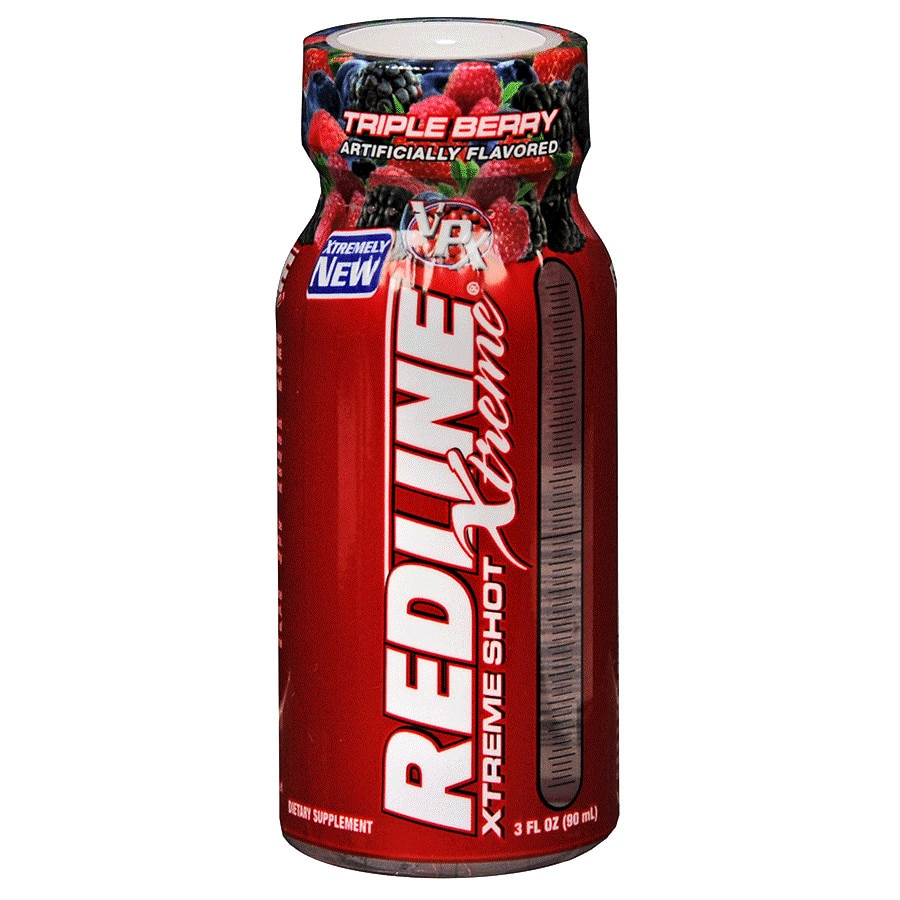 VPX Redline Xtreme Energy Shot Dietary Supplement Berry
