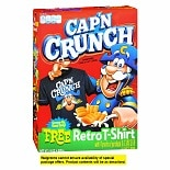 Cap'n Crunch Sweetened Corn & Oat Cereal
