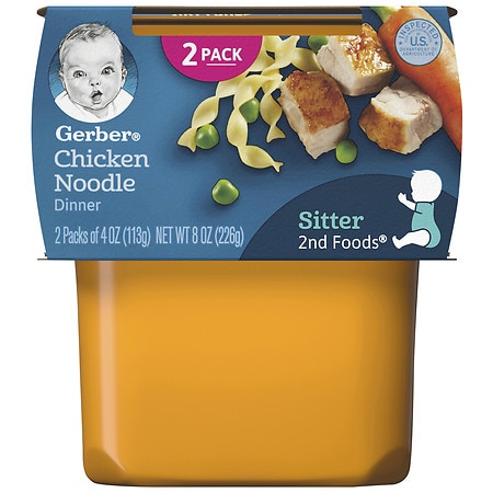 Gerber Nature Select 2nd Foods Nutritious Dinner Baby Food Chicken