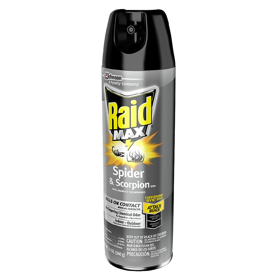 Raid Max Spider & Scorpion Killer Spray | Walgreens
