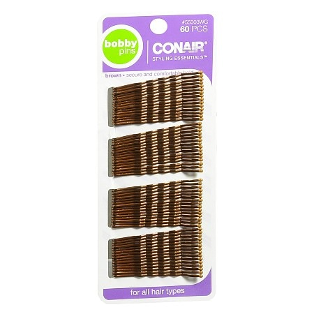 Conair Styling Essentials Bobby Pins Brown